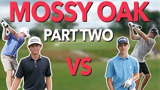 2 v 2 Alternate Shot. Mossy Oak Showdown Part 2. Team George vs Team Wesley | Bryan Bros Golf