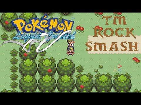 Where to find HM Rock Smash in Pokemon Liquid Crystal