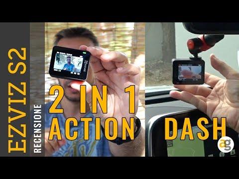 DASH e ACTION CAM 2 in 1 Recensione EzViz S2