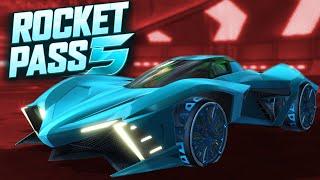 Rocket Pass 5 & Blueprint Update Showcase (Rocket League News)