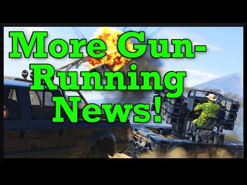 GTA 5: New Gunrunning Screenshots With Gun Customization, Bunkers & More!