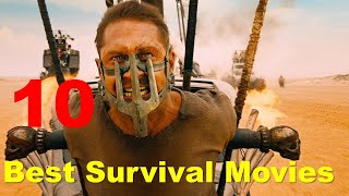 Top 10 Best Survival Movies of all time as per IMDb Ratings | All Time Favorite