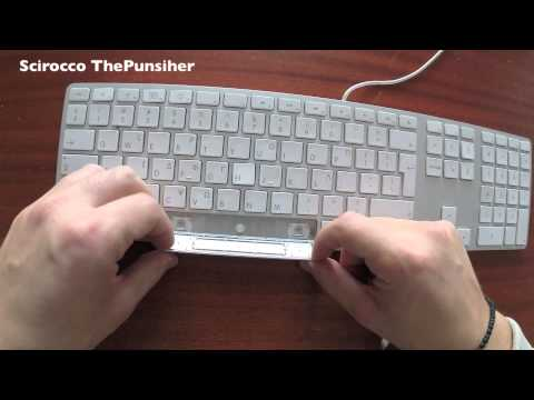 How to Clean an Apple Keyboard [HD]