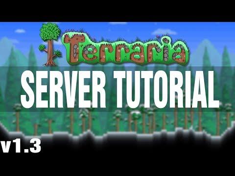 How to make a server for Terraria
