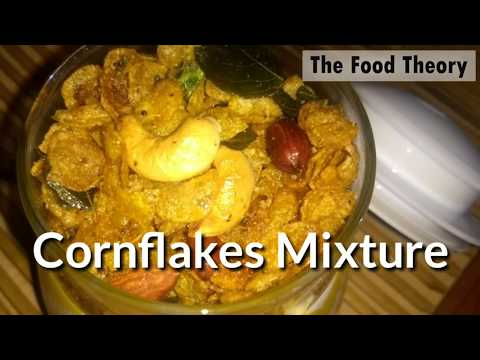 Cornflakes Mixture | Cornflakes Chivda | Diet Mixture