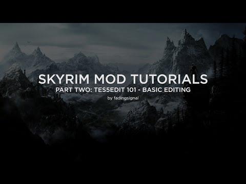 Skyrim Mod Tutorials Part 2: TES5Edit 101 - Basic Editing