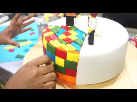 Lego cake by Punizz Kitchen