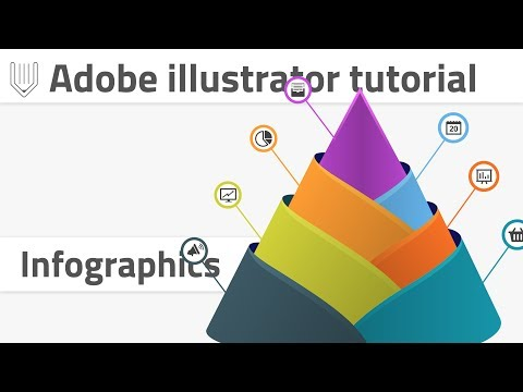 How to create advanced infographics template | Adobe Illustrator tutorial