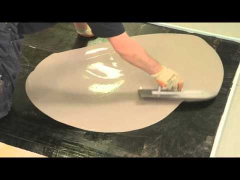 Crating smooth surface on old concrete floor using Stopgap 1200
