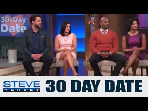 30 Day Date: I Am Used To Dating Jerks || STEVE HARVEY