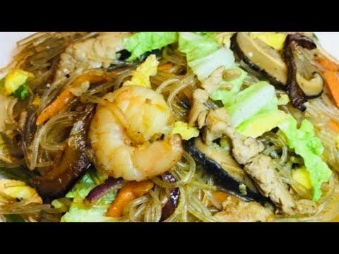PANCIT SOTANGHON W/ CARAMILIZED ONION recipe