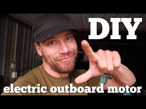 How I build my electric outboard motor