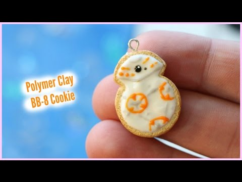 Polymer Clay BB-8 Cookie Charm Tutorial