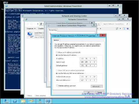 Windows 2012 DC Promotion and Demotion, including DNS records