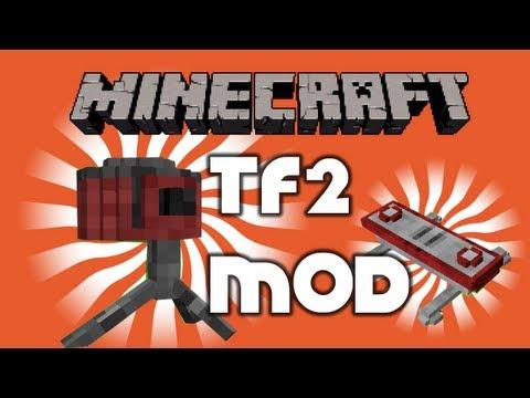 Best Minecraft Beta 1.3.2 Mods | Team Fortress 2 Teleporter & Sentry Mod by Pitman87