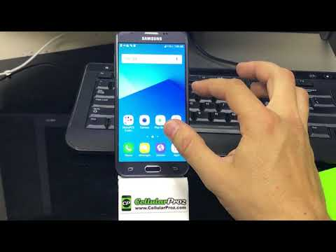 How to install SD and SIM card into Samsung Galaxy J3 Prime