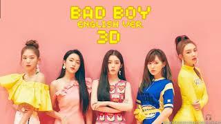 레드벨벳 (RED VELVET) - Bad Boy (English Version) [3D AUDIO USE HEADPHONES]   godkimtaeyeon