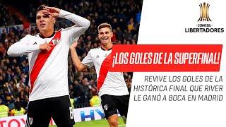 River Plate - Boca Juniors [3-1] | GOLES | Final (Vuelta) | CONMEBOL Libertadores