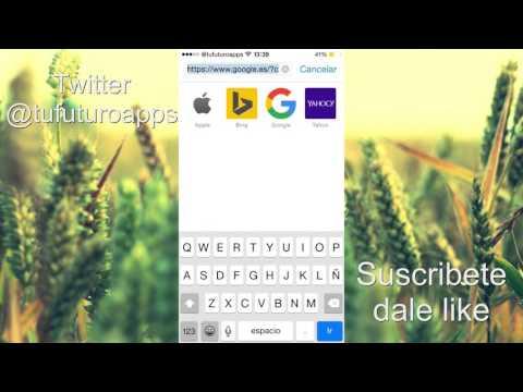 como poner safari en ios 8 modo escritorio en tu iphone ipad y ipod touch