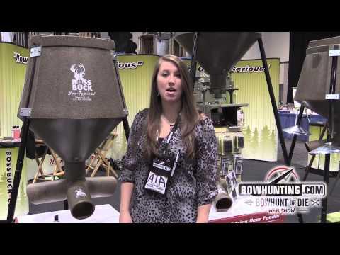 2014 New Bowhunting & Archery gear: Boss Buck Feeders
