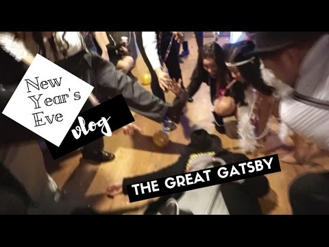 How To (not do) White Elephant | The Great Gatsby NYE vlog ft. the Victorio Clan