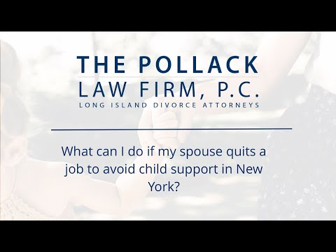 My spouse quit his/her job to avoid paying support, what can I do?