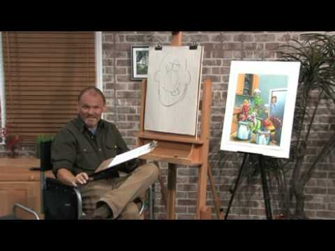 Free Art Lesson - Dan Nelson - How to Hold a Pencil