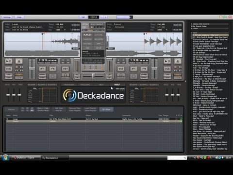 Overview of Deckadance, DJ software for the Synq PCM-1