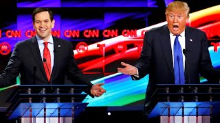 Donald Trump Vs Marco Rubio Full Debate Highlights 2252016