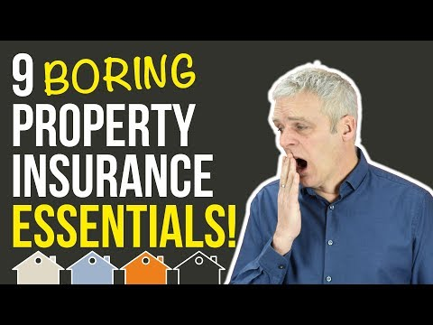 Property Insurance or Home Insurance Essentials For Buy To Let UK Property Investors | Landlord Tips