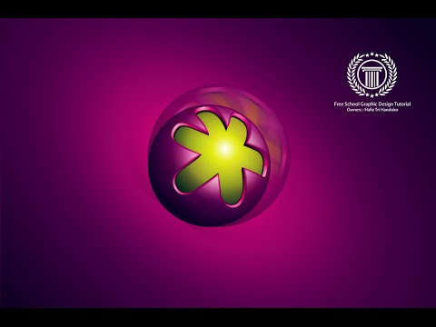 How to Create a 3D sphere logo Design in Adobe illustrator CC