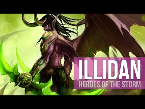 ILLIDAN DOMINATION! (Heroes of the Storm Gameplay)