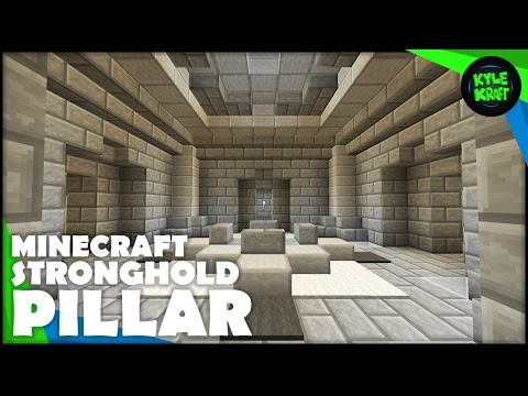 How To Transform a Minecraft STRONGHOLD | Pillar Room