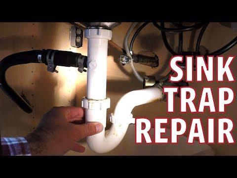 Sink Trap Repair - Leaking