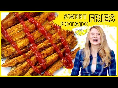 Baked Sweet Potato Fries- Vegan, Gluten Free, Paleo