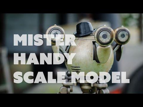Prop: Shop - Mister Handy Scale Model Build