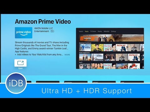 Amazon Prime Video App Finally Comes to Apple TV - HDR, 4K, & TV App Support Included