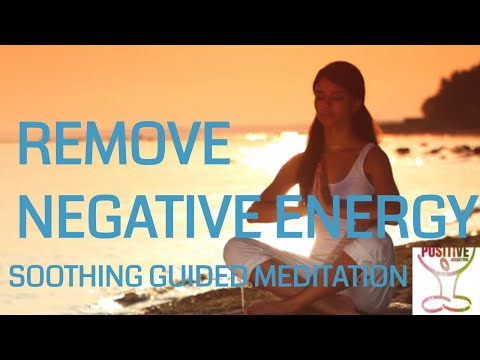 REMOVE Negative Energy, Drama BS & Stress 10 Minute Meditation Guided Talk down for Positive Energy