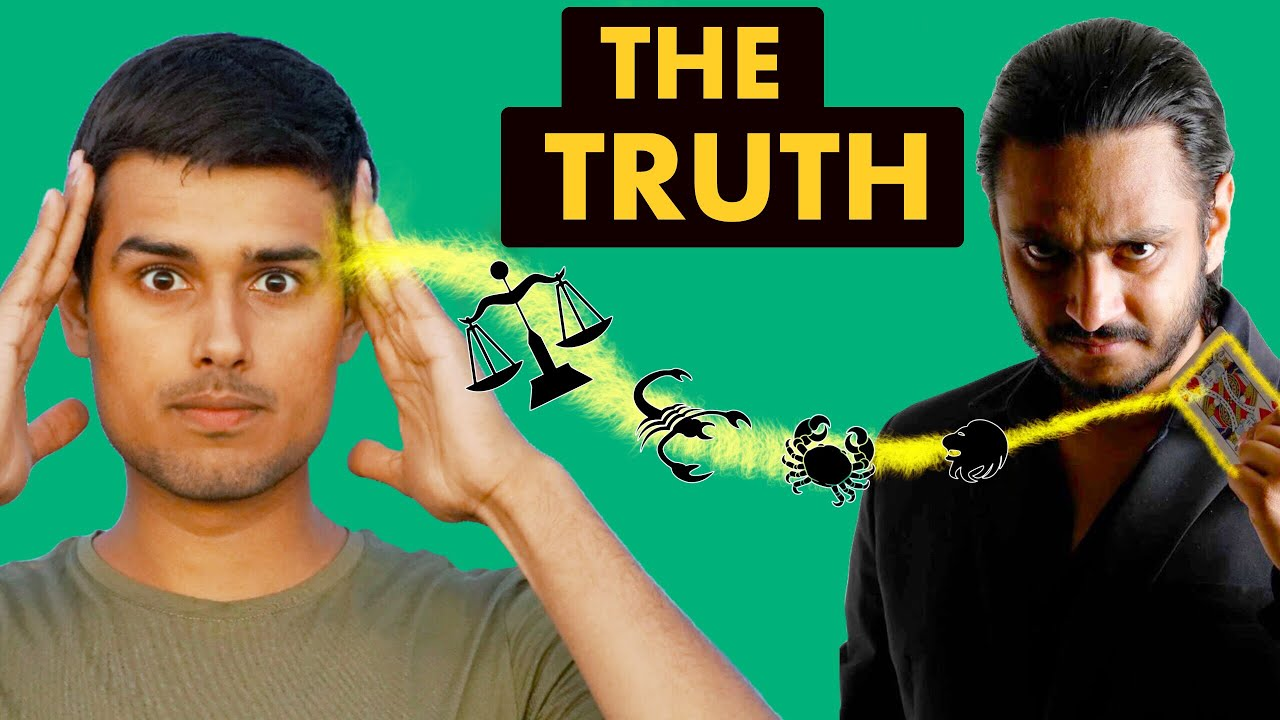 Truth behind Astrology & Mind Reading | Explained by Dhruv Rathee ft. Karan Singh Magic