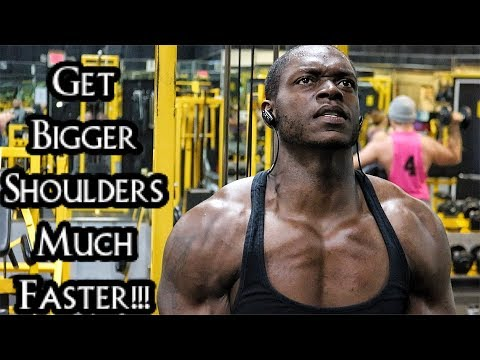 Complete Shoulder Workout For Mass & Strength!!!! (Day 2 Week 1)