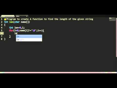 C program to find String length without strlen function