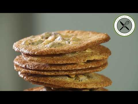 Croquant of Cordes / Crispy Almond Cookie – Bruno Albouze – The Real Deal