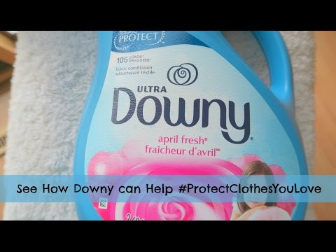 Downy Helps You Protect Your Clothes