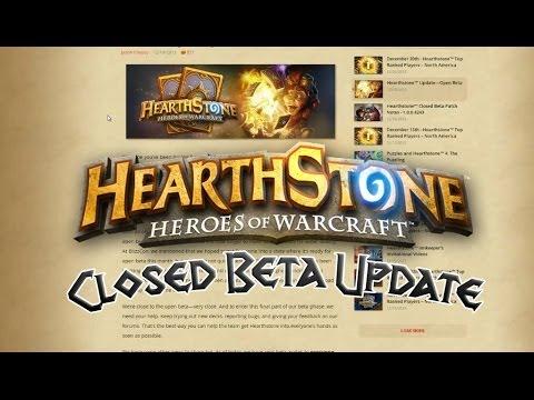 Hearthstone Closed Beta Update   Opt-In Before Jan 7!
