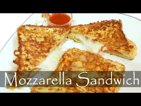 Mozzarella Cheese Sandwich - Mozzarella in Carrozza