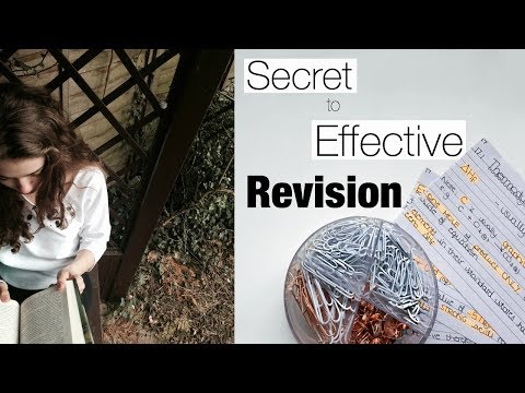 Study Less. Study Smart: Secret for How to Revise Effectively (3 Steps!)