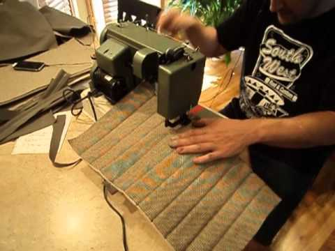 Pattern Sewing Machine On Car Seat Stretch Master Car Seat Covers