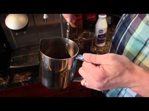 Iced Mocha Breve Latte