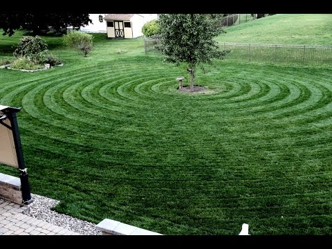 Circular Lawn Striping/Pattern