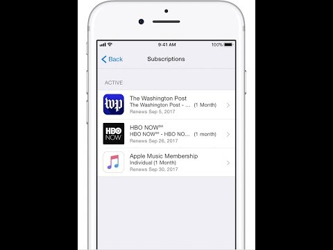 How to View , Change or Cancel Apple Subscriptions ?